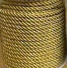 Lurex Cord - Gold 3mm