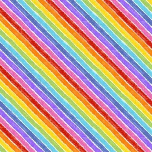 9831L Rainbow Bias Stripe