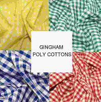 Gingham Poly-Cottons