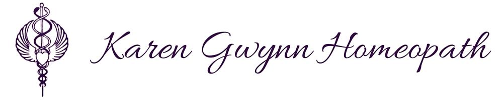 Karen Gwynn Homeopath, site logo.