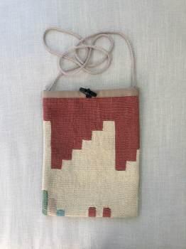Bag - Terracotta & natural