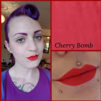 VE Cosmetics Liquid Lipstick Cherry Bomb