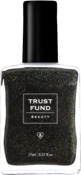 Trust Fund Beauty Black Heart Nail Varnish