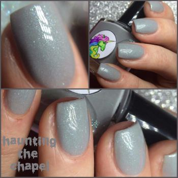 Radioactive Unicorn Haunting The Chapel Nail Varnish