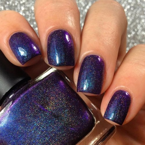 <b>Radioactive Unicorn I Myself Am Strange And Unusual Nail Varnish (Ltd Ed