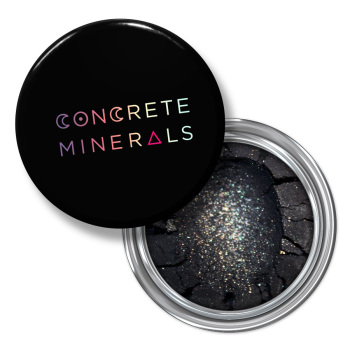 Concrete Minerals Eye Shadow Black Metal