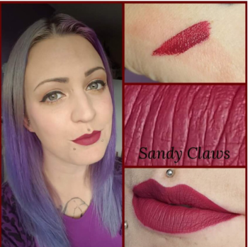 VE Cosmetics Liquid Lipstick Sandy Claws