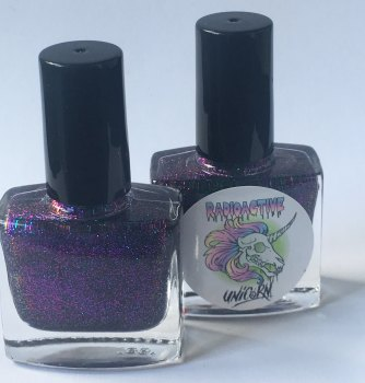 Radioactive Unicorn Eternal Glitter Nail Varnish
