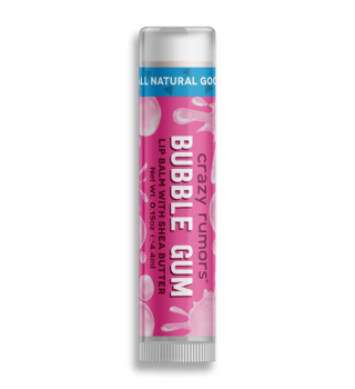 Crazy Rumors Bubblegum Lip Balm