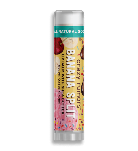 <b>Crazy Rumors Banana Split Lip Balm</b>