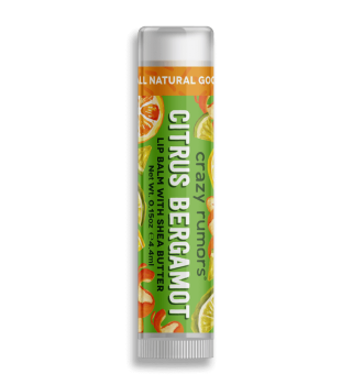 Crazy Rumors Citrus  Bergamot Lip Balm