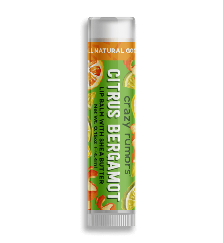 <b>Crazy Rumors Orange Bergamot Lip Balm</b>
