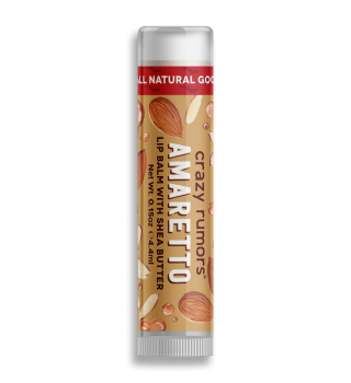 Crazy Rumors Amaretto Lip Balm