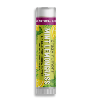 Crazy Rumors Mint Lemongrass Lip Balm