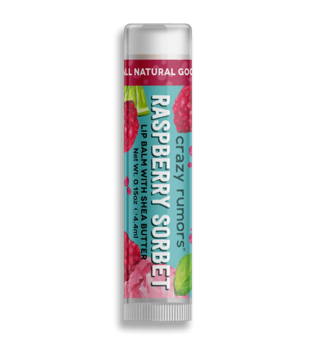 <b>Crazy Rumors Raspberry Sorbet Lip Balm</b>