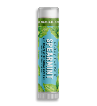 Crazy Rumors Spearmint Lip Balm