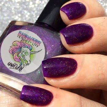 Radioactive Unicorn Purify Yourself Nail Varnish