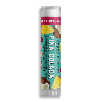 Crazy Rumors Piña Colada Lip Balm