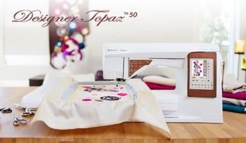 Husqvarna Viking - Topaz 50 - Electronic Sewing and Embroidery Machine