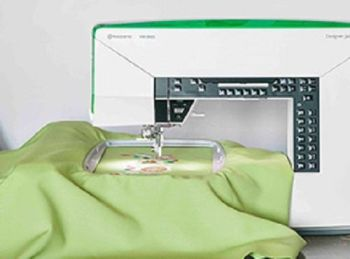 Husqvarna Viking - Jade 35 - Electronic Sewing and Embroidery Machine