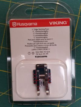 Husqvarna Viking 1/4 inch Edge Stitching Foot 920456096 Category 7, 8 machines