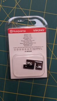 Husqvarna Viking 2mm Shelled Rolled Hem Foot 411852445 Fits most Viking machines