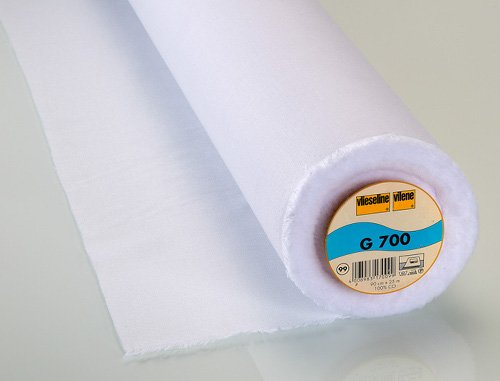 Vilene G700 Fusible Woven Interfacing – White (Pellon SF101)