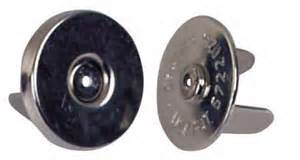 Magnetic fasteners  BLACK 18mm 10 pack