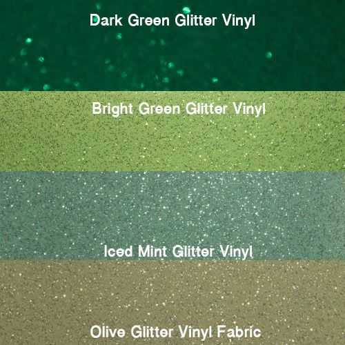 Green Glitter Vinyl Collection