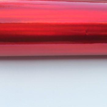 Red Mirror Vinyl Fabric