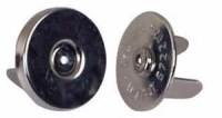 Magnetic fasteners  BLACK 18mm 100 pack