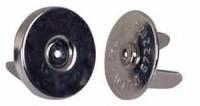 Magnetic fasteners  BLACK 18mm 100 pack