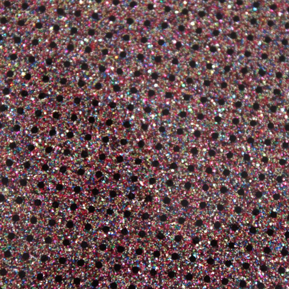 Prisim Dot Glitter Vinyl Fabric