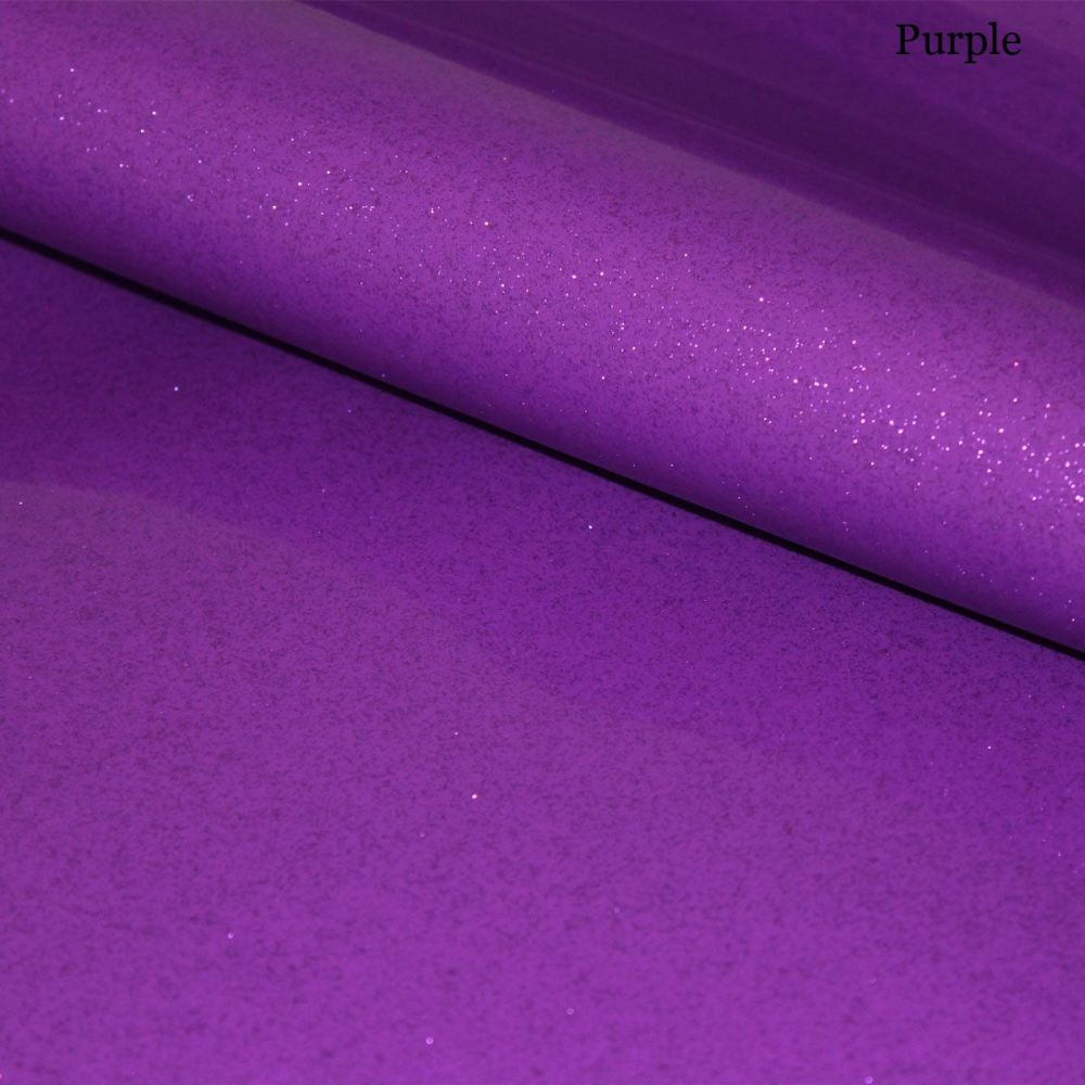 A4 Purple Glitter Vinyl Collection