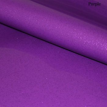 Purple Glitter Vinyl Fabric