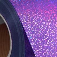 Violet Holographic Heat Transfer Vinyl