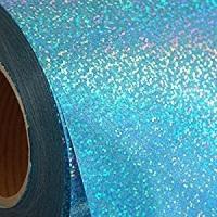 Sky Blue  Holographic Heat Transfer Vinyl