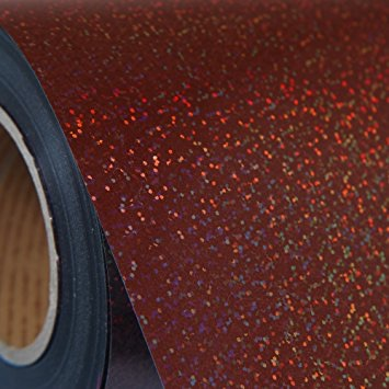 Brown Holographic Heat Transfer Vinyl