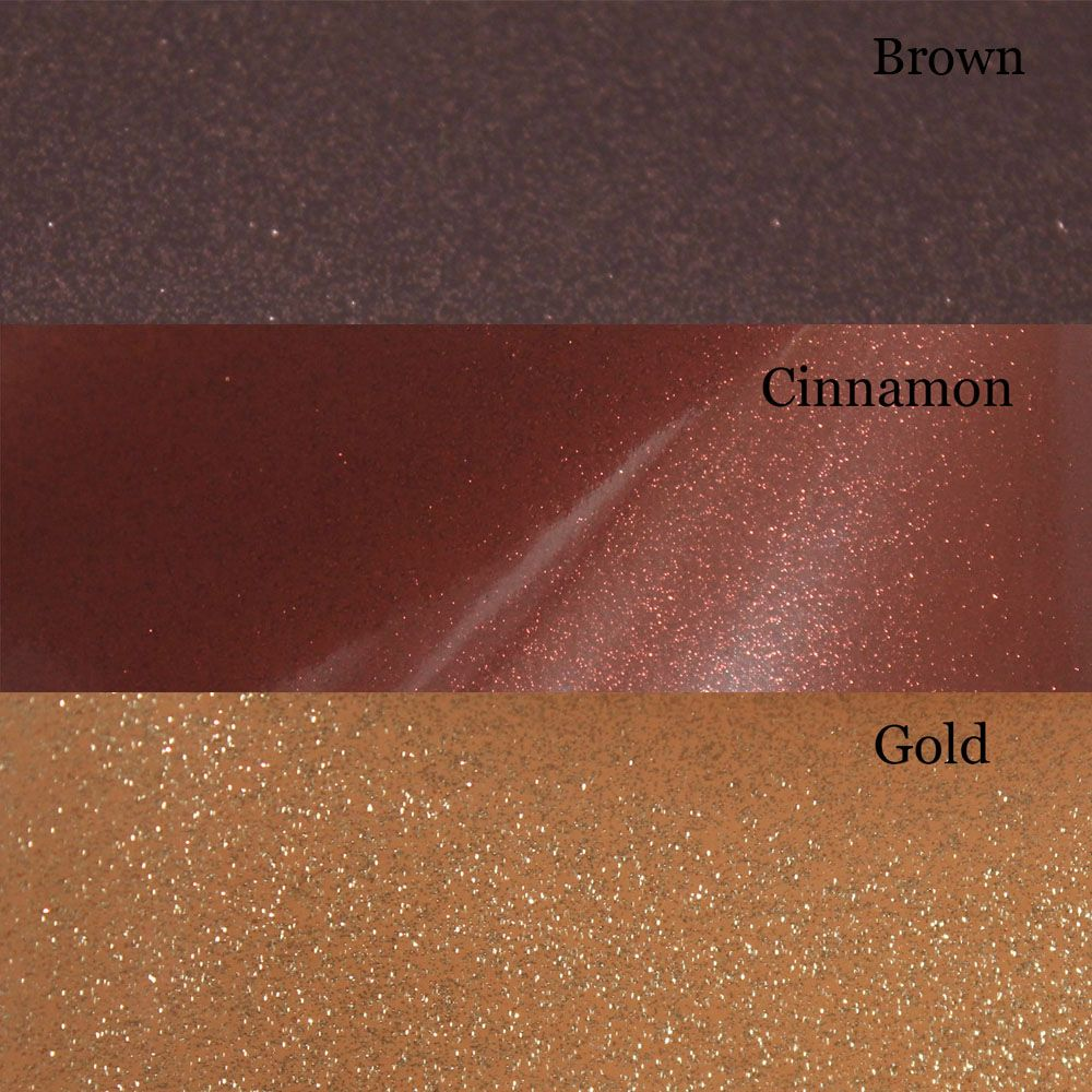 A4 Brown And Gold Glitter Vinyl Collections