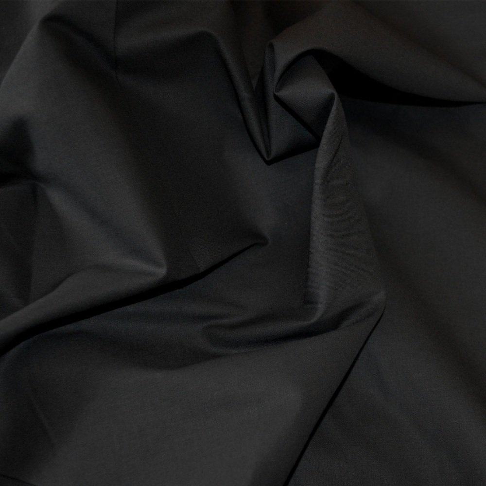 Klona Black 100% Cotton Fabric