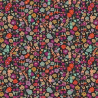 Pretty Ditsy Spices   Spices fusions Art Gallery Cotton