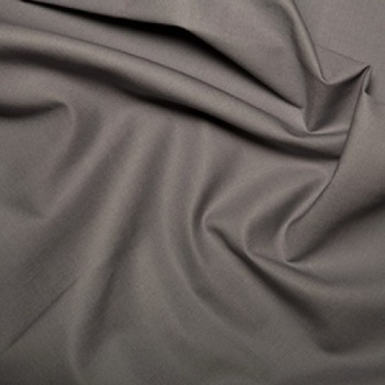 Klona Cotton Grey Fabric. Wonderful quality 100% cotton ideal for patchwork, backing quilts & general sewing projects.