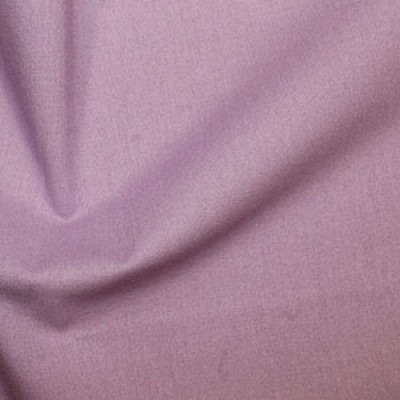 Lilac Plain Cotton Fabric By Rose & Hubble