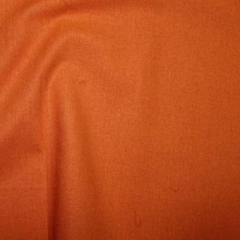 Orange Plain Cotton Fabric By Rose & Hubble