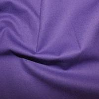 Purple Plain Cotton Fabric By Rose & Hubble