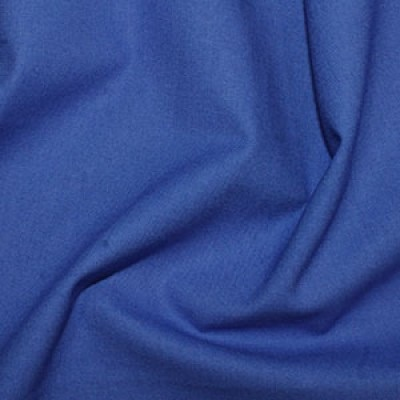 Marine Plain Cotton Fabric By Rose & Hubble