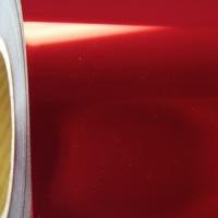 Red Premium Metallic Heat transfer