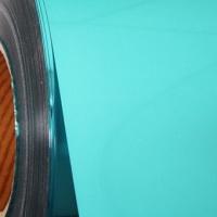 Sky Blue Premium Metallic Heat transfer