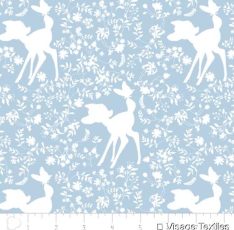 Bambi -Shilhouette Blue