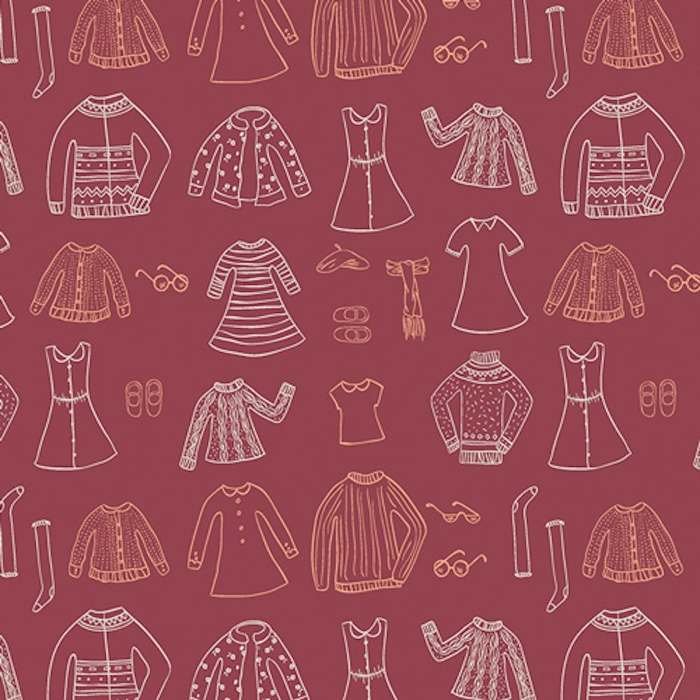 Papercut Wardrobe Crimson
